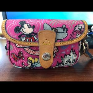 Authentic Dooney and Bourke Disney Parks Wristlet